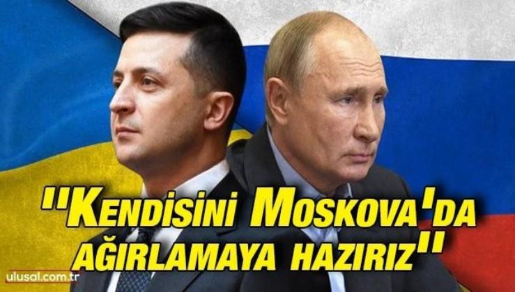 Putin'den Zelenskiy'e yanıt: ''Kendisini Moskova'da ağırlamaya hazırız''