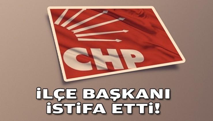 CHP İzmir'de ilçe başkanı istifa etti!