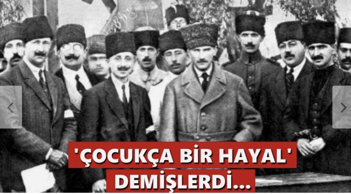 'Çocukca bir hayal' demişlerdi… Mustafa Kemal'in o hayali 9 Eylül'de işgalcileri denize döktü