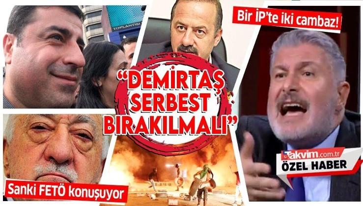 İYİ Parti Genel Başkan Yardımcısı Bahadır Erdem: Selahattin Demirtaş'ın serbest bırakılması lazım
