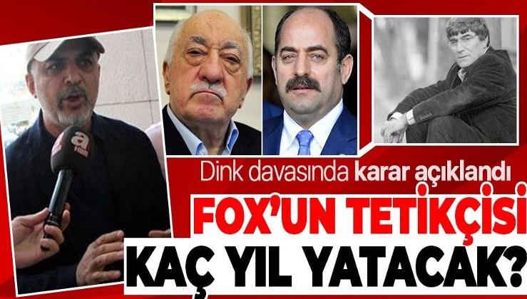 Son dakika: Hrant Dink cinayeti davasında karar açıklandı! FETÖ'cü isimlerin cezası belli oldu