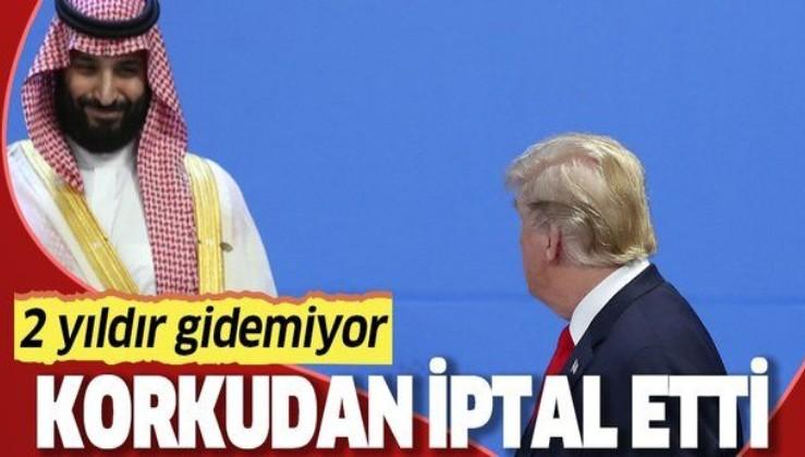 Suudi Prens Muhammed bin Selman Washington'a yapacağı gizli ziyareti ortaya çıkınca 'korkudan' iptal etti