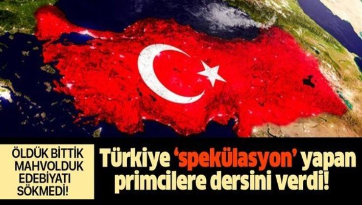 Türkiye'nin pandemi dönemindeki performansıyla ilgili spekülasyon yapanlar yine hüsrana uğradı!