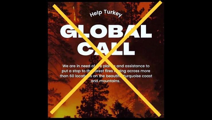 Yangın felaketini bile fırsat bildiler! Türkiye'ye sözde yardım kampanyası adı altında siyasi operasyon