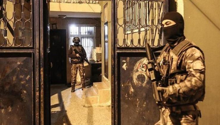 Manisa'da terör örgütü PKK'ya operasyon! 5 şüpheli yakalandı