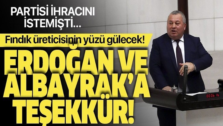 MHP'den ihracı istenen Ordu Milletvekili Cemal Enginyurt'tan Erdoğan ve Bakan Albayrak'a teşekkür mesajı