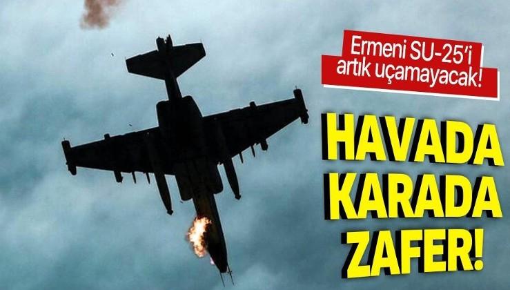 Son dakika: Azerbaycan, Ermenistan'a ait SU-25 savaş uçağını düşürdü