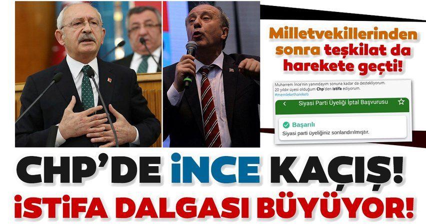 Son dakika haberi: CHP'de Muharrem İnce korkusu! İstifa dalgası büyüyor...