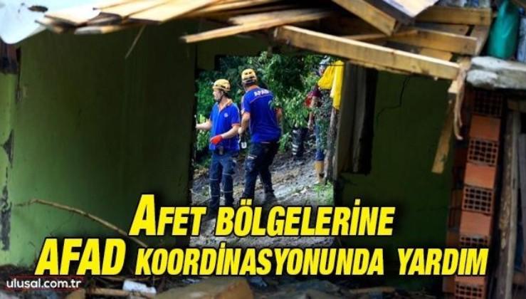 Yangın ve sel bölgeleri için yardım kampanyası AFAD koordinasyonunda yapılacak