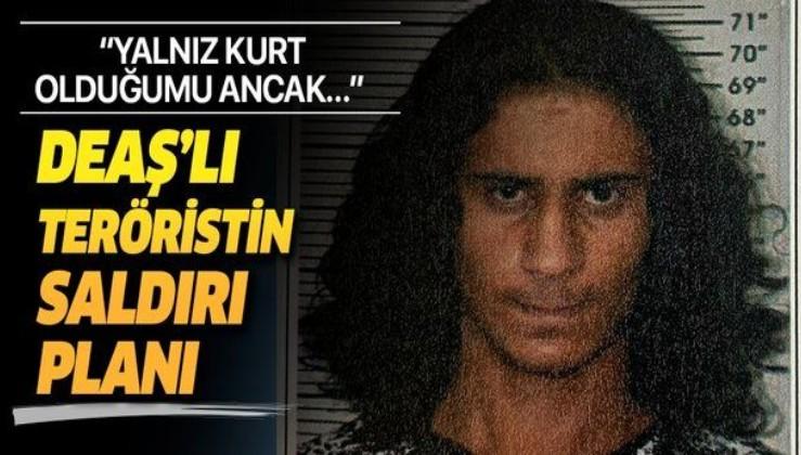 Bursa'da yakalanan DEAŞ'lı terörist polisimizi şehit etmek için saldırı planladığını itiraf etti