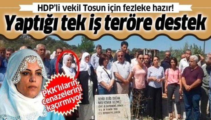 HDP'den milletvekili seçilen Remziye Tosun için fezleke hazır: Yaptığı tek iş terörist cenazelerine katılmak