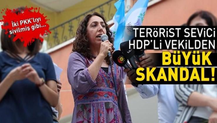 HDP'li vekil Saliha Aydeniz 2 teröristi tedavi ettirmiş!.