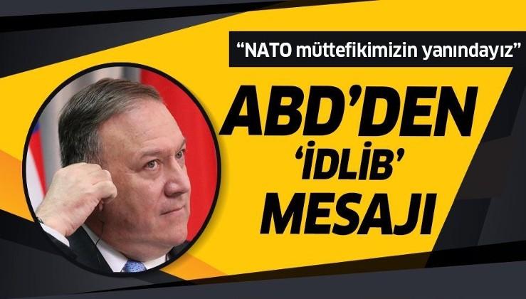 PKK'yı korumak için Barış Pınarı harekatını durduran ABD, İdlib'e girin diyor!