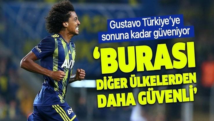 Fenerbahçeli Luiz Gustavo'dan koronavirüs açıklaması: Türkiye'de güvendeyim