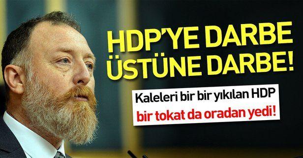HDP'ye bir darbe de oradan! İlk kez kazanıldı.