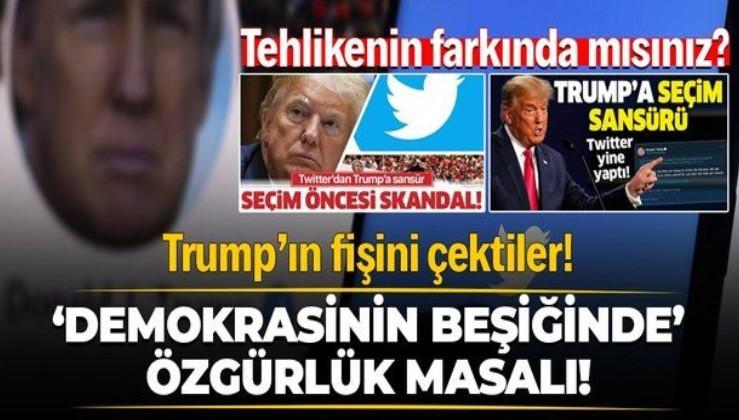 ABD'deki Kongre baskını sonrası sosyal medya devlerinden Donald Trump'a 24 saatlik sansür!