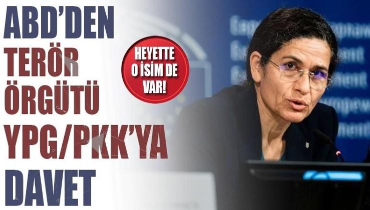 ABD'den terör örgütü YPG/PKK'ya davet: Heyette Mazlum Kobani de var