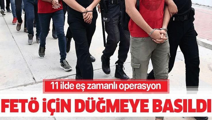 Son dakika: 11 ilde FETÖ operasyonu! 51 kişi hakkında gözaltı kararı.