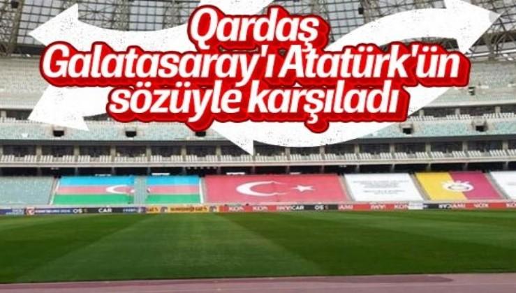 Galatasaray'ın UEFA Avrupa Ligi'ndeki rakibi Neftçi Bakü'den Galatasaray'a Atatürk sürprizi