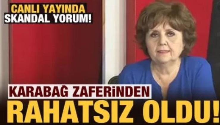 HDP aşığı Ayşenur Arslan, Karabağ Zaferi'ni manşetine taşıyan Türk basınından rahatsız oldu.