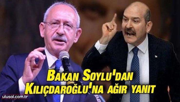 Bakan Soylu'dan Kılıçdaroğlu'na Sedat Peker yanıtı