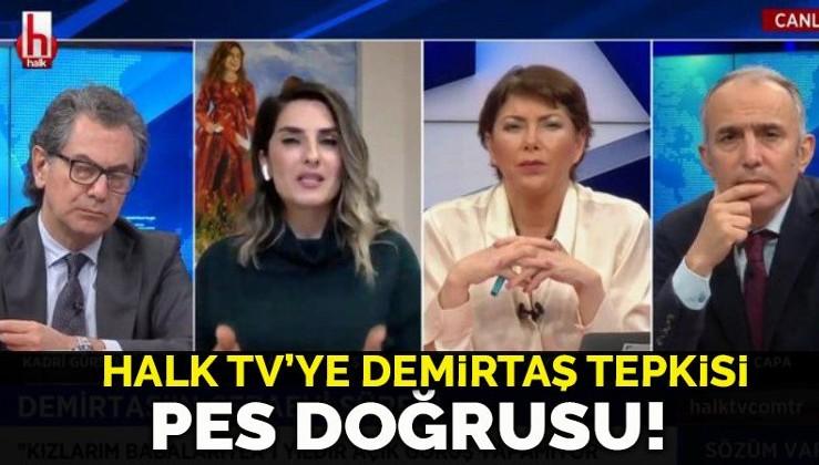 Hulki Cevizoğlu'ndan Halk Tv'ye Başak Demirtaş tepkisi: Pes doğrusu