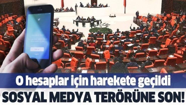 Son dakika: MHP sosyal medyadaki sahte hesaplar ile ilgili kanun teklifini TBMM Başkanlığına sundu