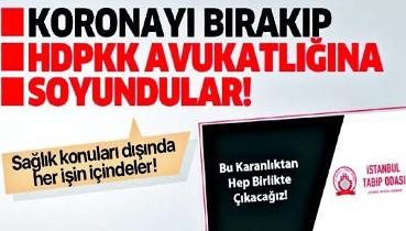 GÜNÜN YORUMU: HDPKK güdümündeki TTB, Türk hekimlerinin %10'unu temsil ediyor