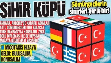 Ankara, Akdeniz'de attığı kararlı adımlar ve zeka dolu diplomasisiyle sömürgecileri masaya oturttu!