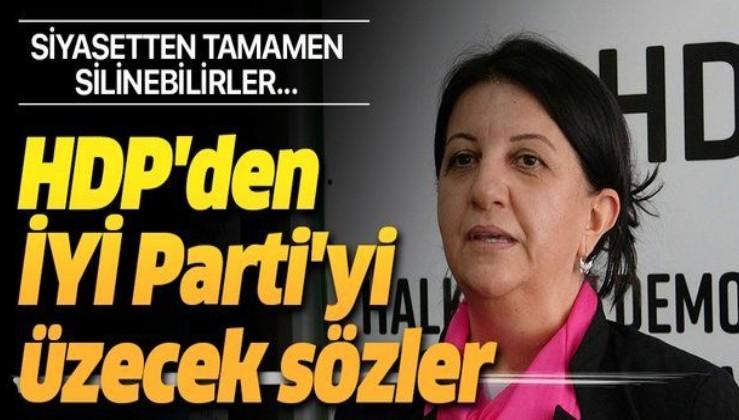 HDP'li Pervin Buldan'dan İYİ Parti'yi üzecek sözler: