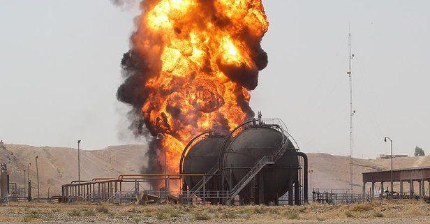 Son dakika: DEAŞ Kerkük'te petrol kuyusuna saldırdı!