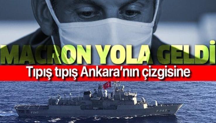 Türkiye'ye tehditlerle geri adım attıramayan Fransa, Ankara'nın çizgisine geldi