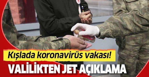 Burdur'da bazı askerler koronavirüse yakalandı