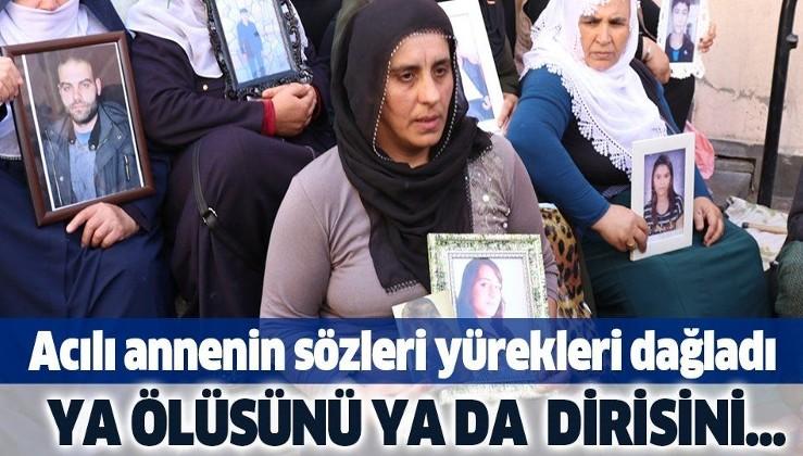 """Evladından haber alamayan annenin o sözleri yürekleri dağladı: """"Ya ölüsünü ya dirisini istiyorum""""."""