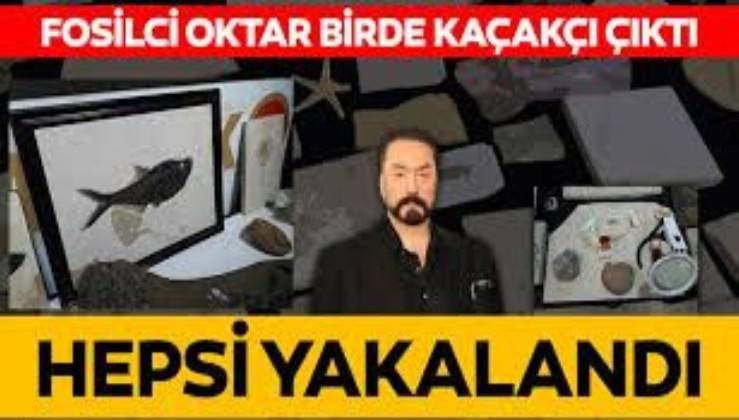 Ankara'da Adnan Oktar suç örgütüne 'kaçak fosil' operasyonu