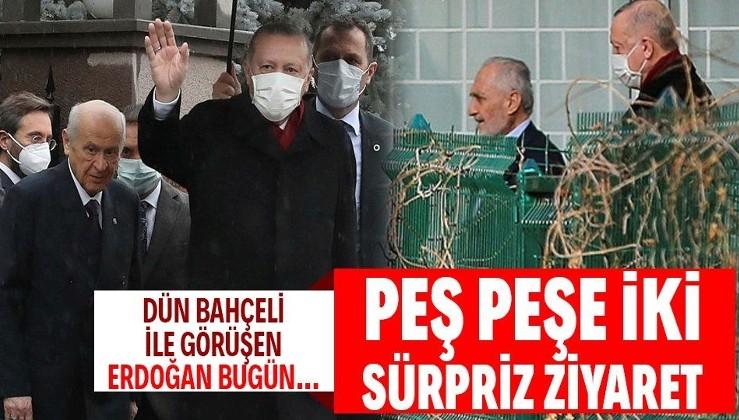 Erdoğan'dan Oğuzhan Asiltürk'e sürpriz ziyaret! Dün Bahçeli ile bir araya gelmişti...