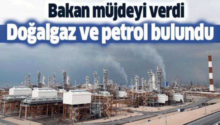 Son dakika: Bakan müjdeyi verdi! O bölgelerimizde doğalgaz ve petrol bulundu.