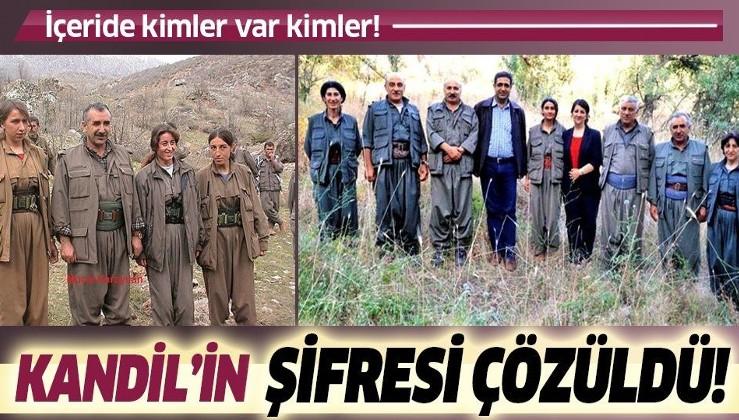 Son dakika: Terör örgütü PKK'nın 20 yıllık arşivi ele geçirildi!