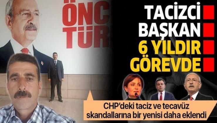 CHP tacizden hapis yatan Hüseyin Çiçek'i ilçe başkanı yaptı: Tam 6 yıldır görevde