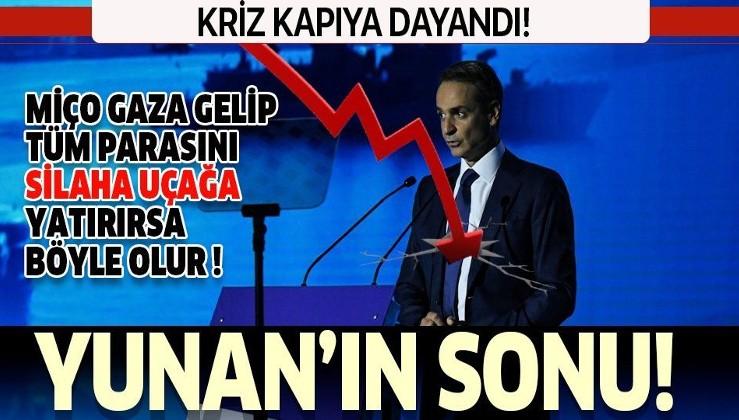 Savunma harcamalarını artıran Yunanistan'ı zor bir kış bekliyor! Kriz kapıda...
