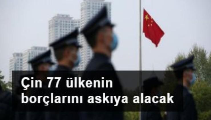 Çin 77 ülkenin borçlarını askıya alacak