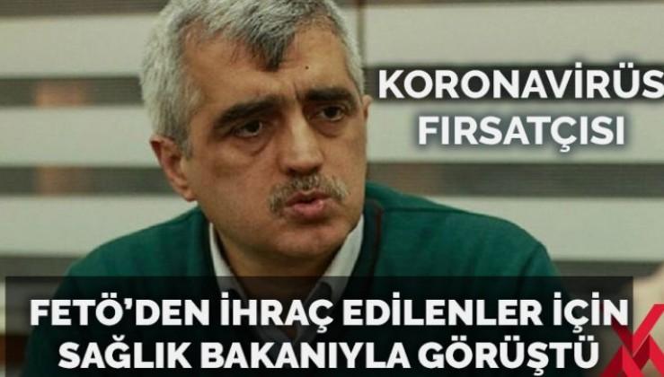 Fırsatçı HDP'li Gergerlioğlu, Sağlık Bakanı ile görüştü FETÖ'ten ihraç edilenlerin iadesini istedi