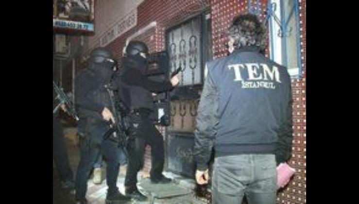 İstanbul'da gece yarısı operasyonu! 5 PKK'lı teröriste gözaltı