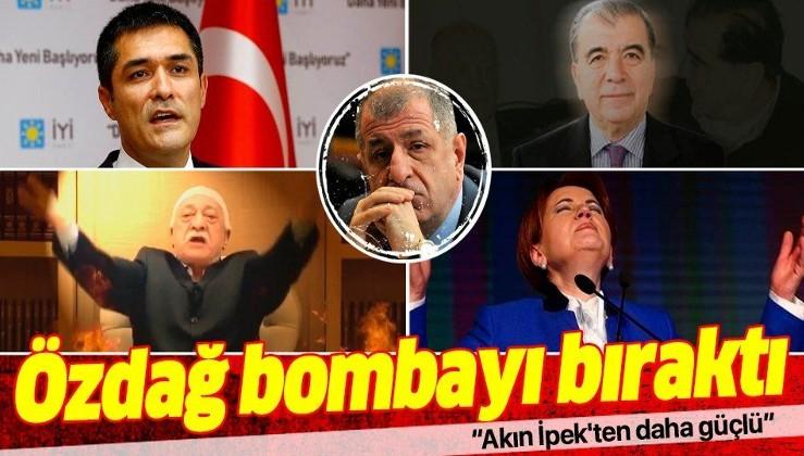 İYİ Parti'den bugün ihraç edilen İstanbul Milletvekili Ümit Özdağ: Buğra Kavuncu'nun FETÖ bağlantısı Akın İpek'ten daha güçlü