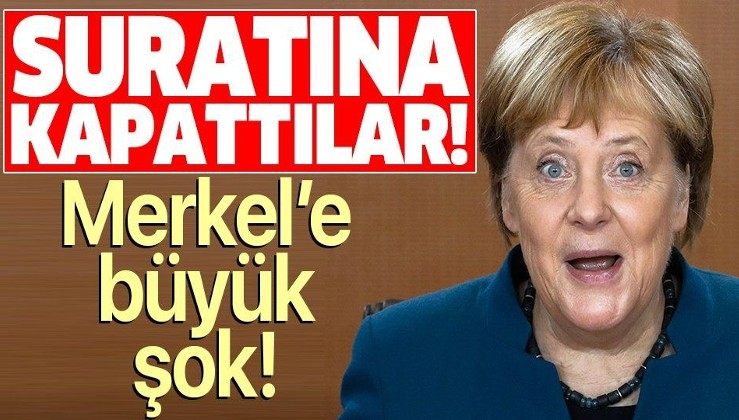 Son dakika: Almanya Başbakanı Merkel'e büyük şok: Telefonu suratına kapattı.