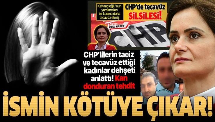 HDP CHP'yi ele geçirdi, tecavüz, taciz vakaları patladı: Yöneticilerin taciz ve tecavüzüne uğrayan kadınlar yaşadıkları dehşeti anlattı: Sen kızsın ismin kötüye çıkar