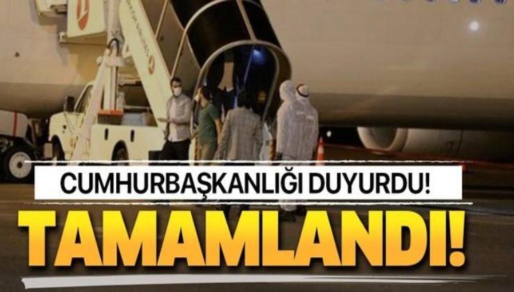 Son dakika: Tahliye işlemleri tamamlandı! 2 bin 721 öğrenci Türkiye'ye getirildi!.