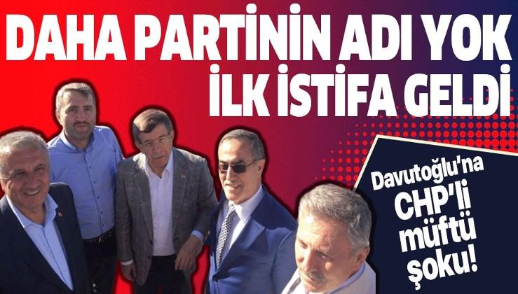 Ahmet Davutoğlu'na katılmaktan vazgeçti.