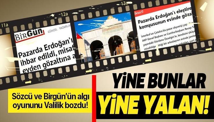 İstanbul Valiliği'nden Sözcü ve Birgün'ün skandal haberine yalanlama.
