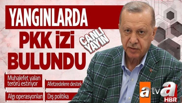 Cumhurbaşkanı Recep Tayyip Erdoğan: Tutuklananların ailesinde PKK ile iltisaklıların da olduğunu tespit ettik.